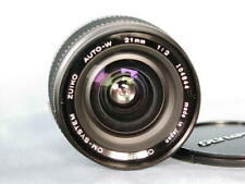OLYMPUS OM ZUIKO 21mm F2 LENS PERFECT MINT CONDITION