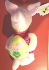 a Disney Easter Piglet Mini Bean Bag Beanie w/tags from Winnie the Pooh Egg 1999