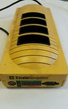 TRIMBLE GPS Navigation 20669-00 4 Slot Battery Charger Station Dock