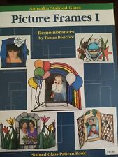 Aanraku Picture Frames I Stained Glass Pattern Book, Photo Frames