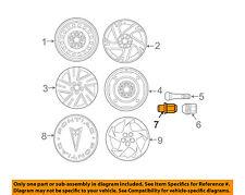 Pontiac GM OEM 03-08 Vibe Wheel-Lug Nut 88972745