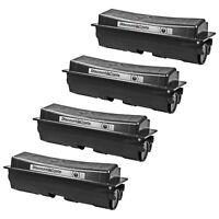 4PK Compatible TK-132 TK132 BLACK Toner for Kyocera Mita FS FS-1028mfp FS-1350DN