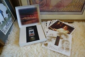 Titanic VHS Rare Vintage Collectors Box W/ Film Cell & Collector Cards.