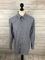 JAEGER Shirt - Size Large - Grey - Paisley - Great Condition - Men's