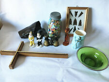 Junk Drawer Box Lot #3 - Antiques Vintage Collectable misc mid century ceramic