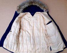 Vintage&authentic Men's Tommy Hilfiger Parka Blue, Winter Coat_Size L.RRP £299