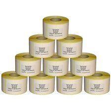 Thermoetiketten für BIZERBA - verschiedene Sorten - 10 bis 30 Rollen - Hülse 40