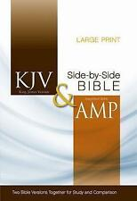 KJV and Amplified Side-by-side Bible by Zondervan (Hardback, 2011)
