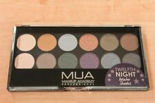 NEW Rare *MUA MAKEUP ACADEMY* 12-color TWELFTH NIGHT Shimmer EYESHADOW PALETTE