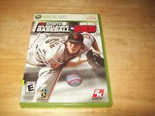 Major League Baseball 2K9 (Microsoft Xbox 360, 2009)