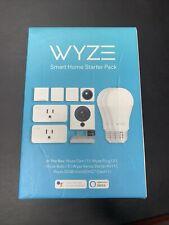 Wyze Smart Home Starter Pack  NEW/SEALED Cam Camera Plug & Bulb Kit