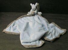 doudou ane cheval bleu ciel gris couverture noukie's neuf