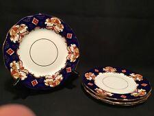 """VINTAGE ROYAL ALBERT BONE CHINA HEIRLOOM 4 Salad Plates 8"""""""