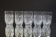 5 Becher Gläser Katharinenhütte Burg Lindau Biergläser Highball 11 cm Wasserglas