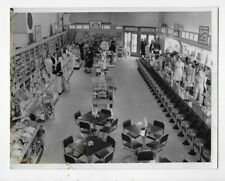 PRESS PHOTO #1372 1942 INTERIOR OF NEW MARSHALLS STORE CLEVELAND OHIO