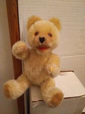 Teddybär alt harte Füllung ca. 22 cm helles Fell, gebraucht