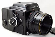 *VG* ZENZA BRONICA SQ-A Medium Format w/ Zenzanon-S 80mm F2.8 Lens From Japan
