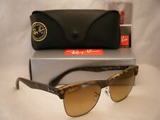 Ray Ban Clubmaster Oversized Sunglasses Rb4175 878/m2 57mm Brown Polarized Lens