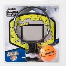 Go-Pro Basketball Hoop Set Spring Loaded Rim PVC Basketball Kids Indoor Sports