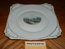 1920 s Heather Lake Revelstoke BC Cake Sandwich Picture Plate British Columbia