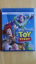 Disney * Pixar TOY STORY Blu-Ray + Blu-Ray 3D + DVD + Digital HD NEW Sealed