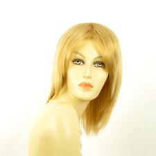 Perruque femme mi-longue blond clair doré YRIS LG26