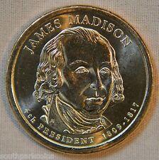 2007-P James Madison Uncirculated Presidential Dollar - Single