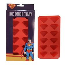 Superman Logo Silicone Ice Cube Tray DC Comics