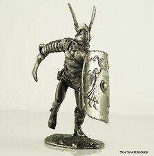 *Gladiator Secutor* Tin toy soldier 54mm miniature statue. metal sculpture