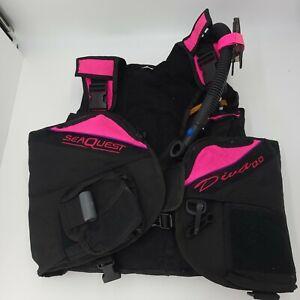 Seaquest DIVA QD Scuba Diving BCD Vest Women's Medium/Large