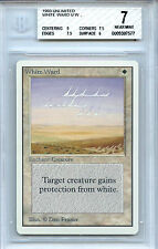 MTG Unlimited White Ward Magic the Gathering BGS 7.0 (7) NM card