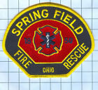 Fire Patch - Spring Field Ohio Fire and Rescue