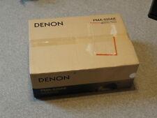 Denon pma-520ae 2 canal amplificador estéreo premium de plata