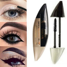 1 X 2 in 1 3d Fiber Mascara Long Lasting and Curling Eyelash Brush Beauty Tool