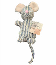 """VINTAGE RUSS HOME BUDDIES 6"""" BEAN BAG PLUSH Terry Cloth SNIFFY MOUSE #4151 TAGS"""