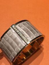 Vince Camuto Snakeskin Leather Bangle Bracelet