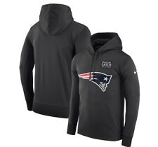 Nike New England Patriots Crucial Catch Hoodie Team Issued Men's Size XL NWT