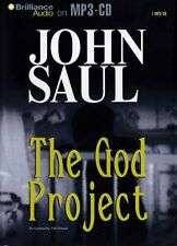 John SAUL / The GOD PROJECT   [ABR Audiobook ]