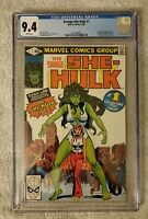 Savage She-Hulk #1 Marvel 1980 CGC 9.4 1st Appearance Origin of She-Hulk