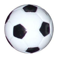 1 Table Soccer  Foosball Black-White Foos Ball engraved part.