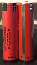 "Brand New ""2""  Panasonic NCR18650GA 3500mAh 10A 18650 Battery Protected, w/ PCB"