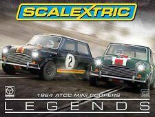 Scalextric Limited Edition 1964 Australian Mini Cooper Touring Car Legends C3586
