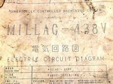OKUMA AND HOWA MILLIAC 438V ELECTRIC CIRCUIT DIAGRAM DR18000