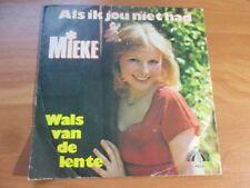 80er Jahre - Mieke - Als ik jou niet had
