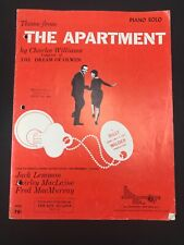 Vintage Sheet Music Theme from THE APARTMENT by Charles Williams