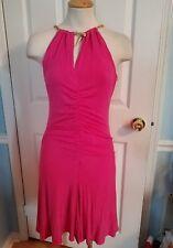 cache pink dress snake necklace m.  #847