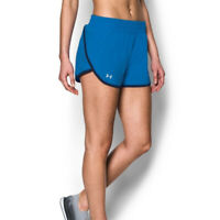 Under Armour UA HeatGear Launch Tulip Ladies Blue Running Shorts S