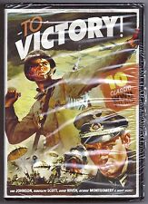10-Movie Classic WW ll Film Collection TO VICTORY! DVD 3-Disc Set WWII BRAND NEW