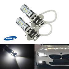 2X H3 453  10 LED SMD Xenon Blanc Phare DRL Beam Voiture Lumière de brume
