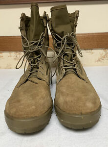 USMC Marine Corps Belleville Combat Boots Men's Size 12.0 R 01-D-0011 2282165